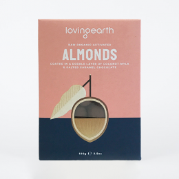 Almonds in Mylk & Salted Caramel Chocolate