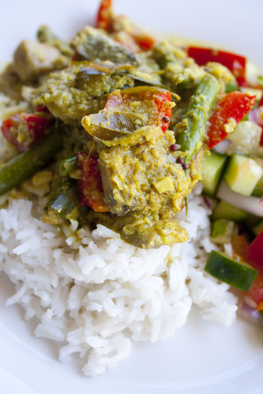 South Indian Coconut Curry