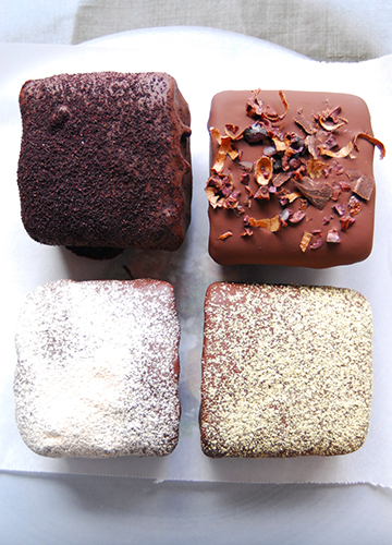 Dulce De Leche Mousse w/ Chocolate, Mesquite, Maqui & Gubinge