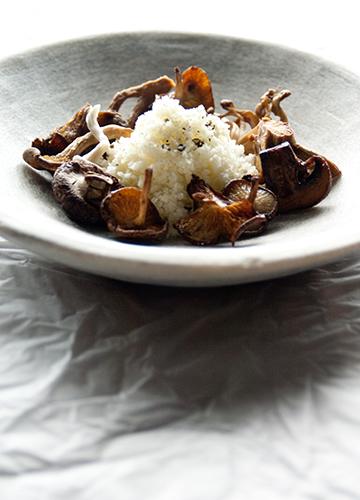 Mushroom Bouillon with Truffles