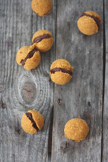 Flamboyant Saffron + Caramel Moist Macaroons