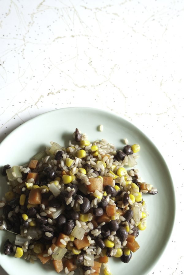 Rainbow Rice Salad