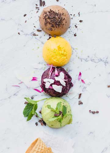 Instant Fruit Sorbets - 4 Ways