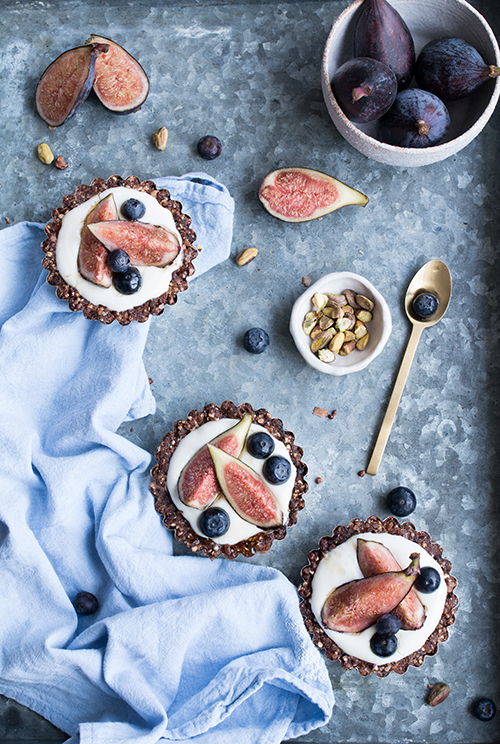 Chocolate Clusters + Fig Tartlettes