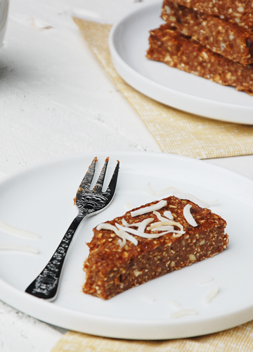 Coconut Espresso Breakfast Bars
