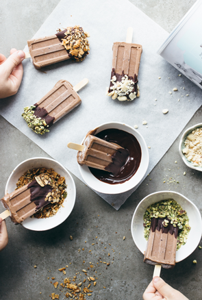 Kids Chocolate Protein Pops