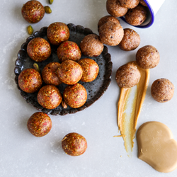 Cookie dough & superfood balls