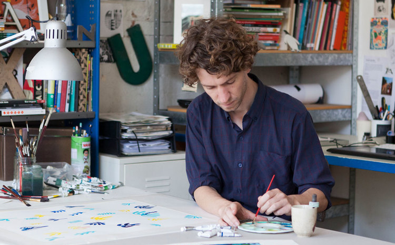 5 Minutes with Illustrator Marc Martin