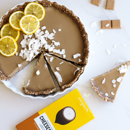 No-bake Raw Lemon Cheesecake Tart