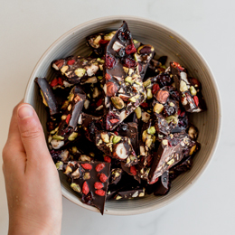 """Delightful"" Chocolate Bark"