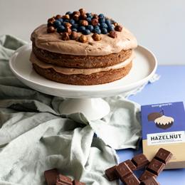 Choc-Hazelnut Torte