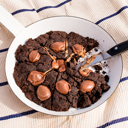 Boobook Chocolate Skillet Cookie