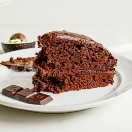 Avocado Chocolate Mud-Cake