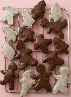 Chocolate Dipped Gingerbread Biscuits