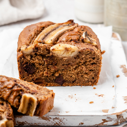 Banana Choc Chip Loaf